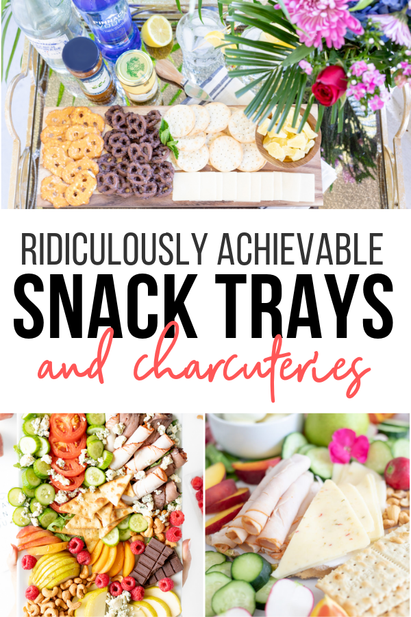 List of Snack Tray ideas that are stupid easy. Yum. I want to try them all!