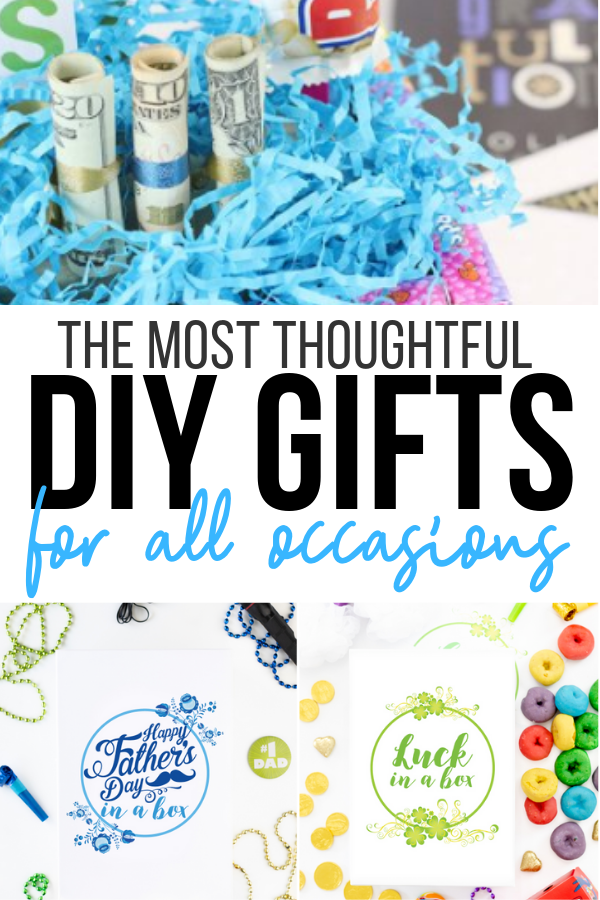 DIY Gift Ideas that are totally thoughtful and SO achievable. No crazy difficult unachievable directions.
