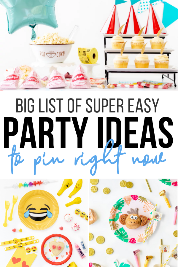 Party Ideas Easy