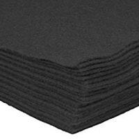 Black Felt Sheets