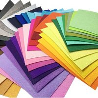 Multi-Colored Felt Sheet Pack