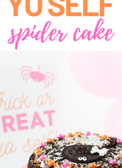 Trick or Treat Yo Self Cake and Party Printable.