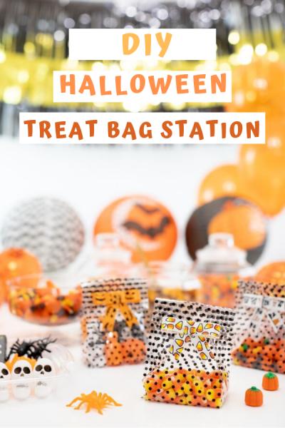 DIY Treat Bag Station
