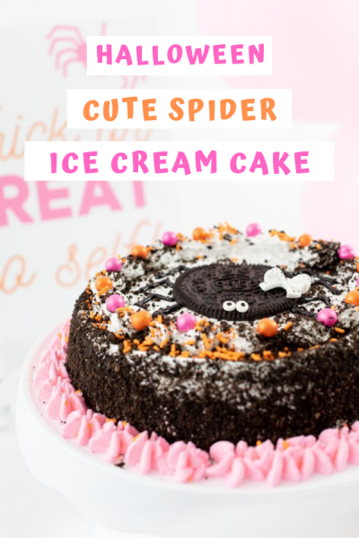 Cutest spider cake ever! Make it easily with this clever hack.
