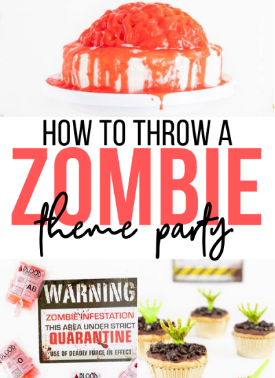 How to throw an epic zombie party.