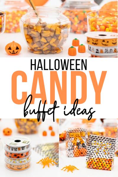 Halloween Candy Buffet Ideas