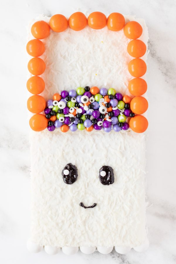 Cute Halloween Ghost Cake