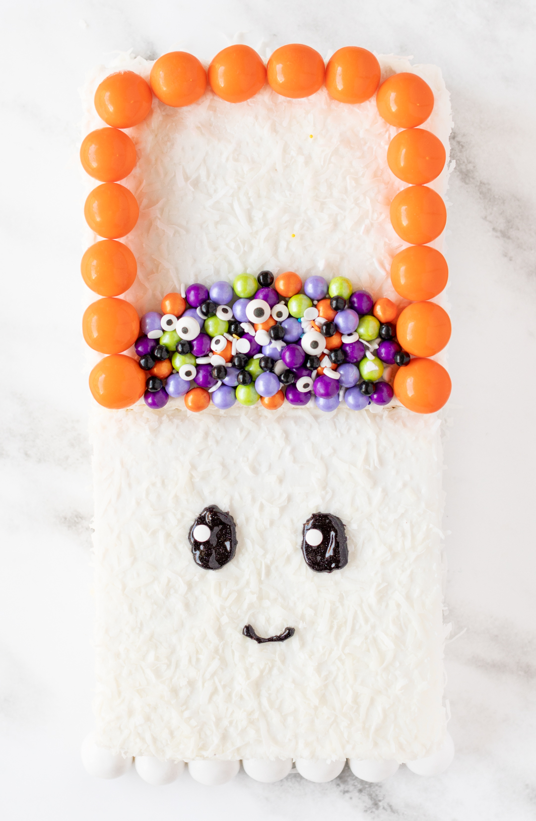 Cute Halloween Ghost Cake
