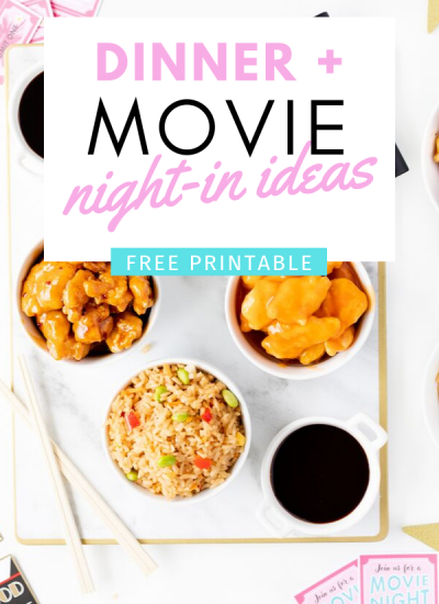 Dinner and Movie Night in Ideas for Families.