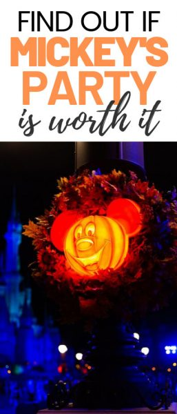 Click to find out if Mickey's Not So Scary Halloween Party is worth the $$$.