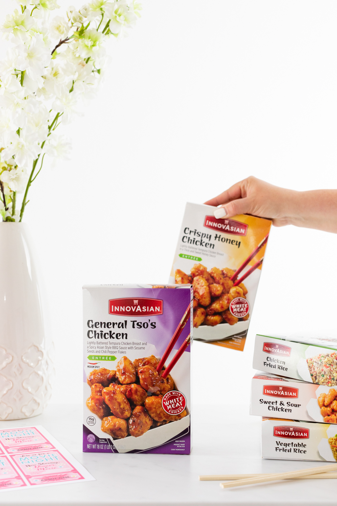 InnovAsian frozen meal options.