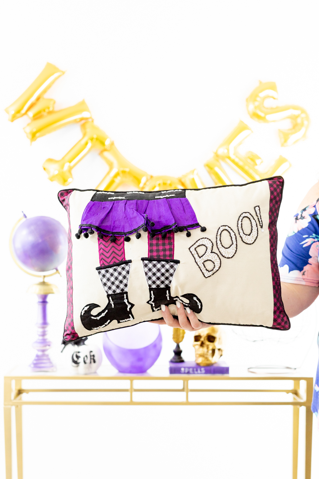 Boo Witch Pillow