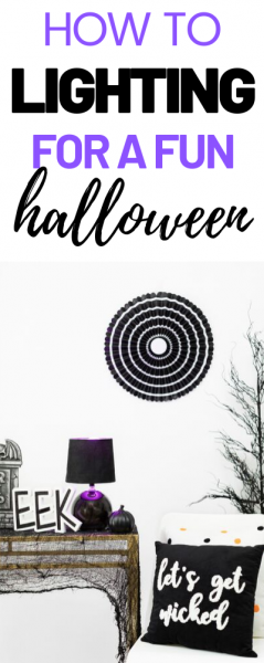 Halloween Lighting Made Easy