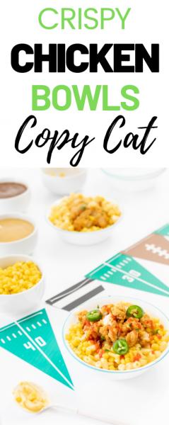 CopyCat Crispy Chicken Bowls