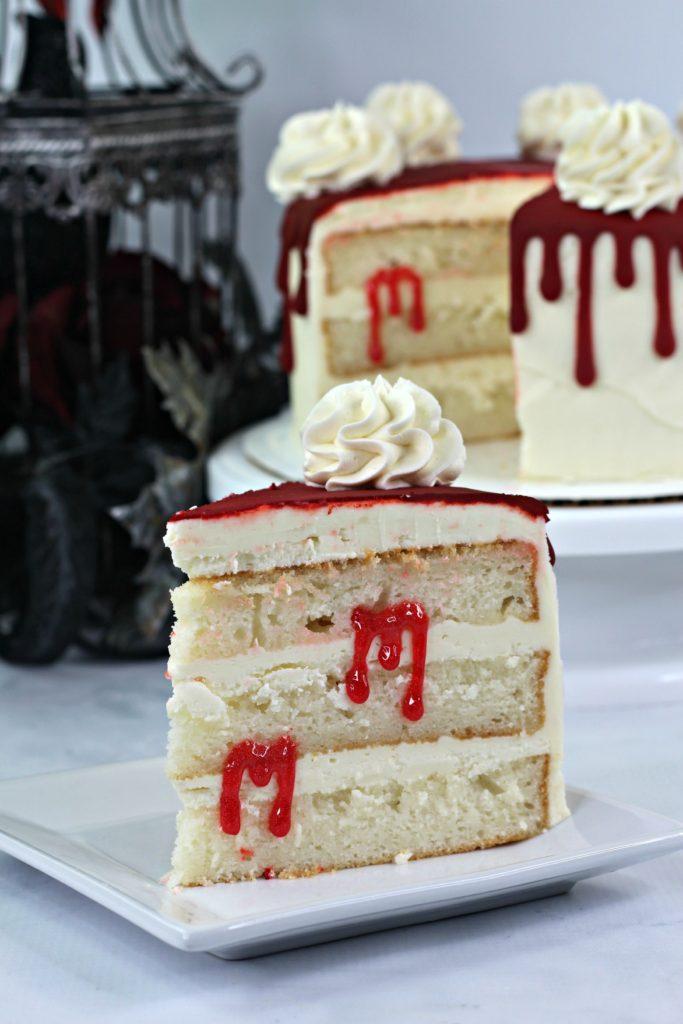 Bloody Vampire Cake