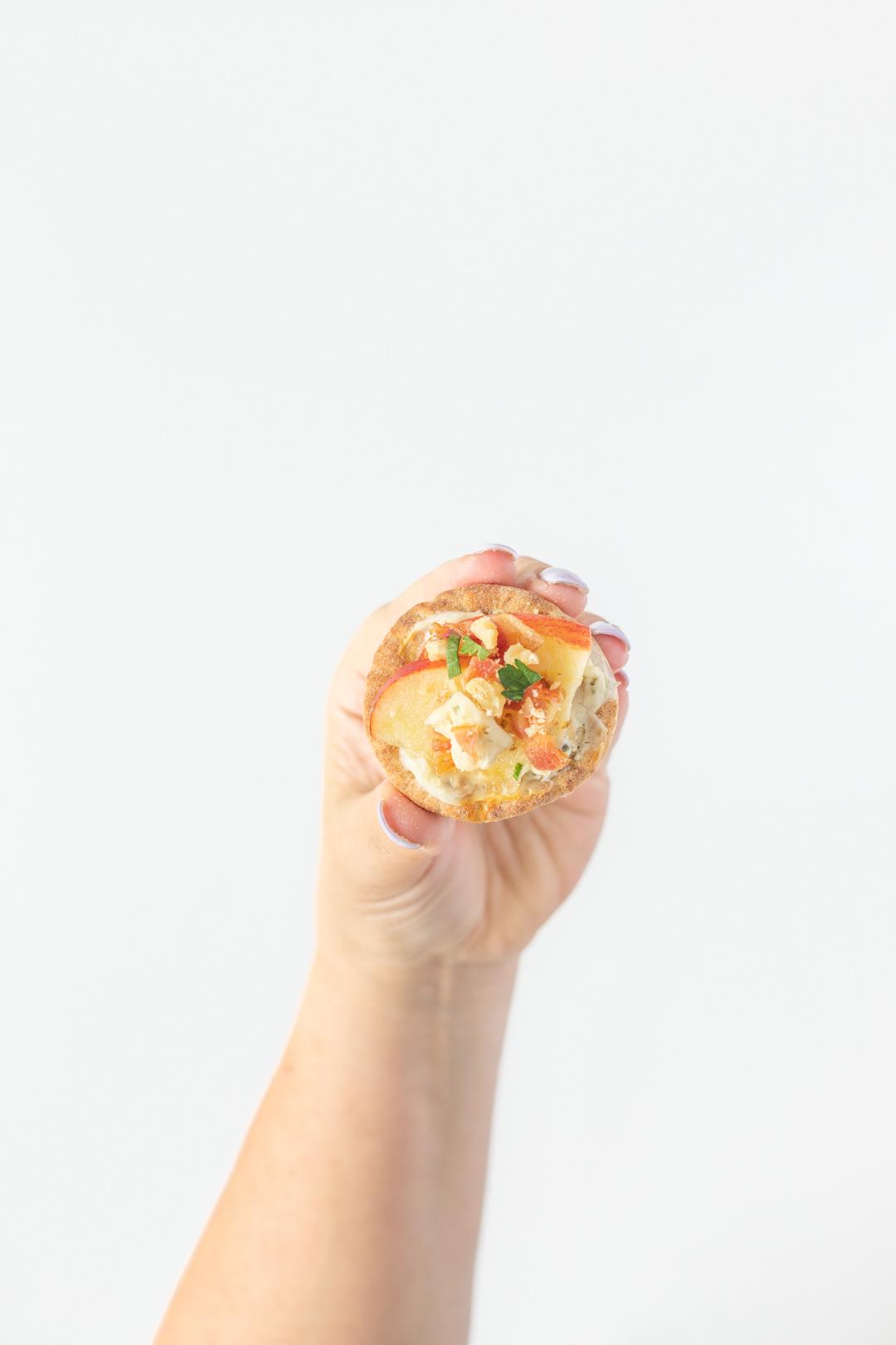 Mini Pita Apple Appetizer