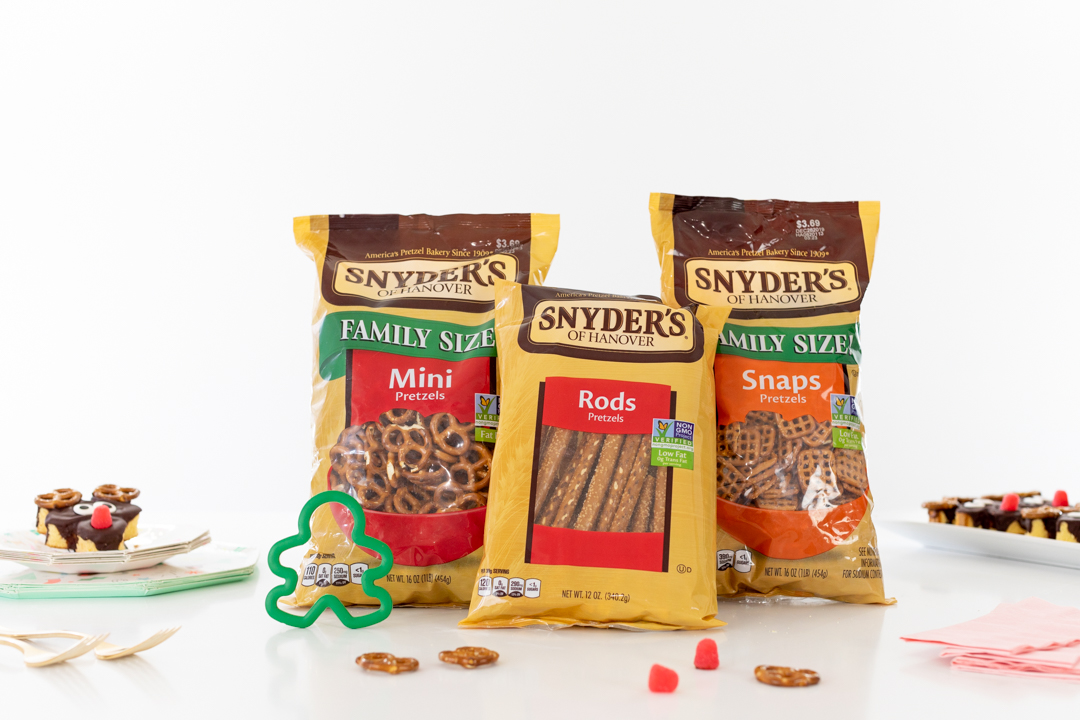 Synders Pretzel Bags. Rods. Minis. Snaps.