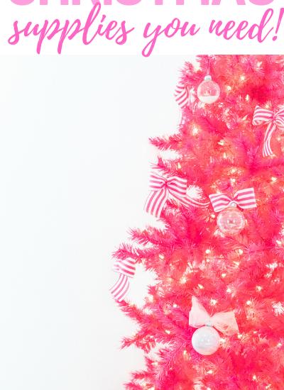 100 pink christmas