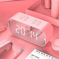 Mini Bluetooth Speakers Portable Wireless & Alarm Clock