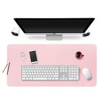 Pink Desk Pad Mouse Pad/Mat