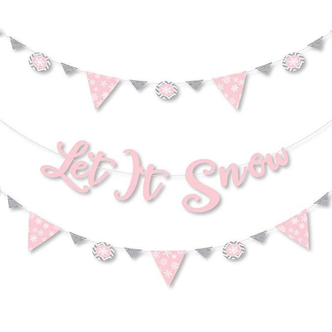 Let It Snow Banner