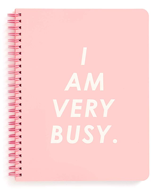I Am Very Busy Mini Spiral Notebook
