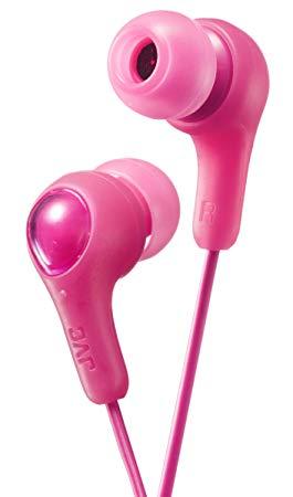 Pink Earbud Headphones