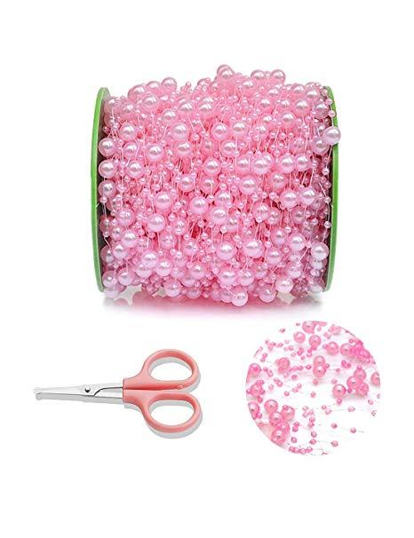 Pink Pearl Garland
