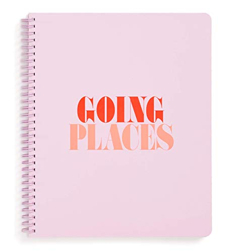 Going Places Large Spiral Notebook