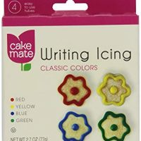 Cake Mate Writing Icing Classic Colors