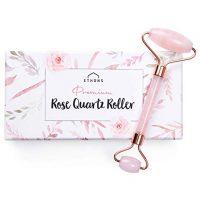 Rose Quartz Roller Skincare Tool
