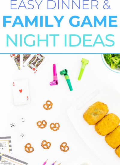 Easy Dinner and Game Night