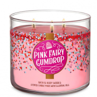 Pink Fairy Gumdrop Candle
