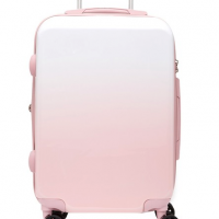 Pink Carry-On Hardside Spinner