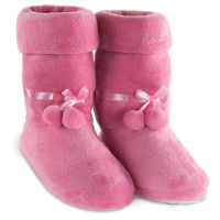 Pink Slipper Boots for Women