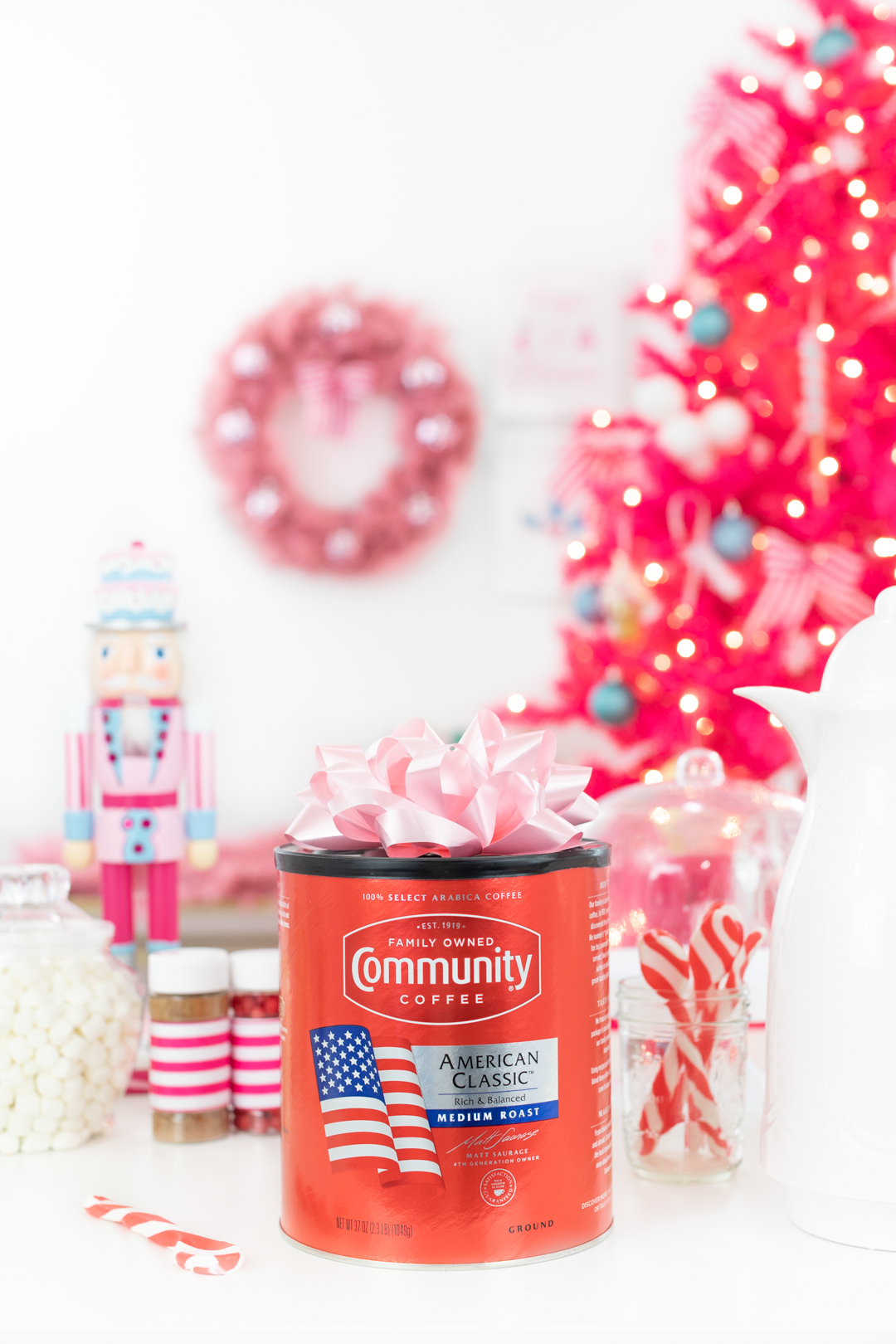Community Coffee American Blend Canister. Walmart exclusive.