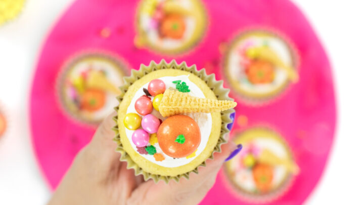 Cute Cornucopia Cupcakes
