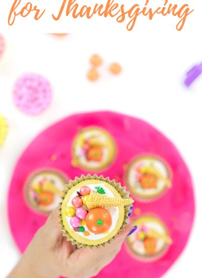 cornucopia cupcakes
