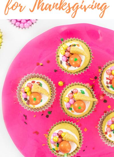 Best friendsgiving cupcakes