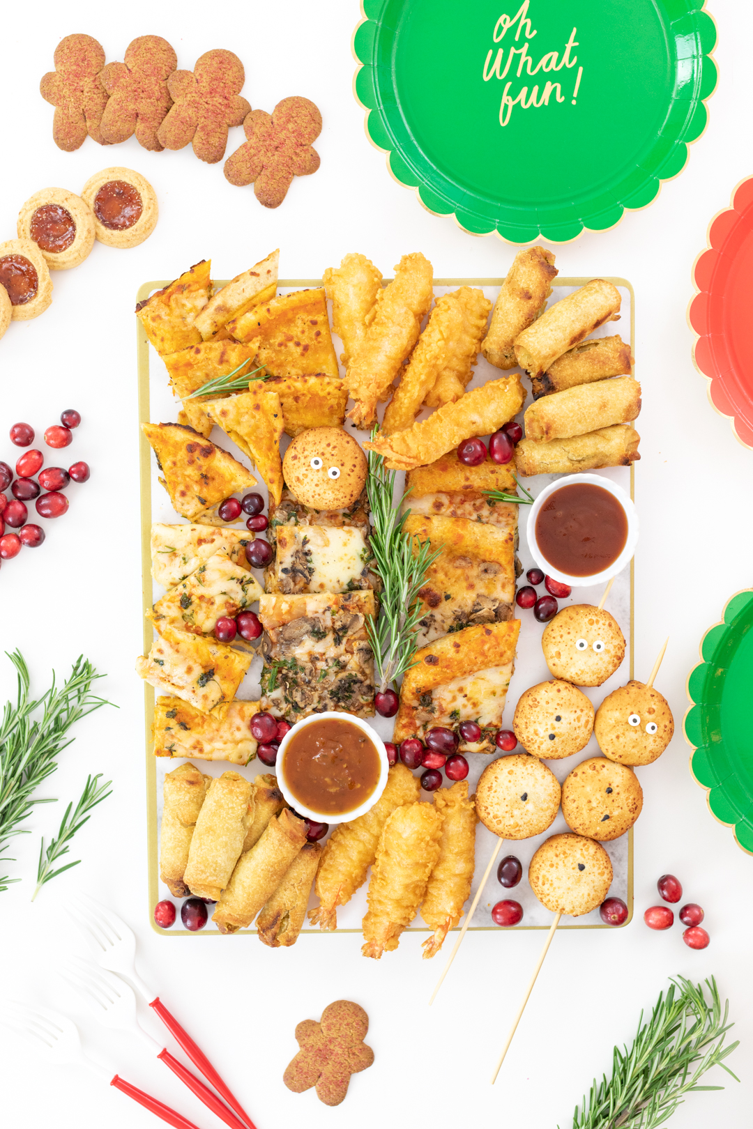 Holiday Snack Board