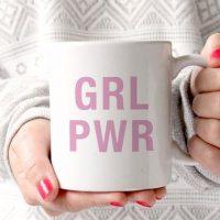 Pink Girl Power Mug