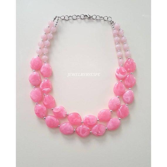 Blush Pink Necklace