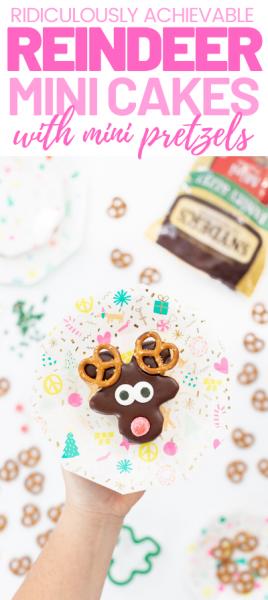 Cute reindeer treat