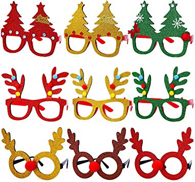 Christmas Costume Glasses Favors