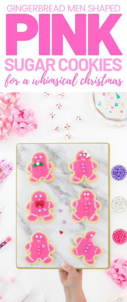 Christmas Pink Gingerbread