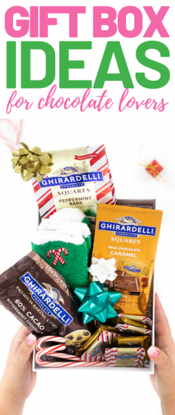 ghirardelli in a gift box