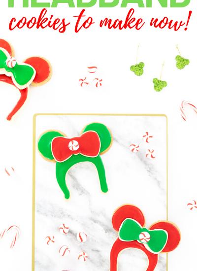 Minnie Christmas Sugar Cookies