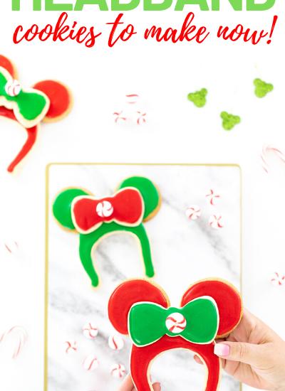 Easy Disney Christmas Sugar Cookies