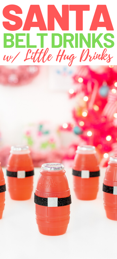 Santa drinks