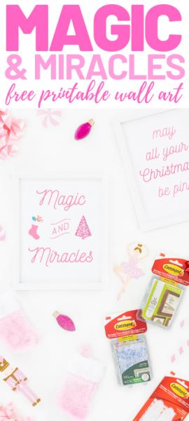 magic and miracles wall art